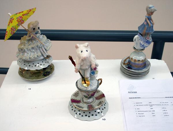 Winnie Roeper - 3 kleine objecten - Porcelein
