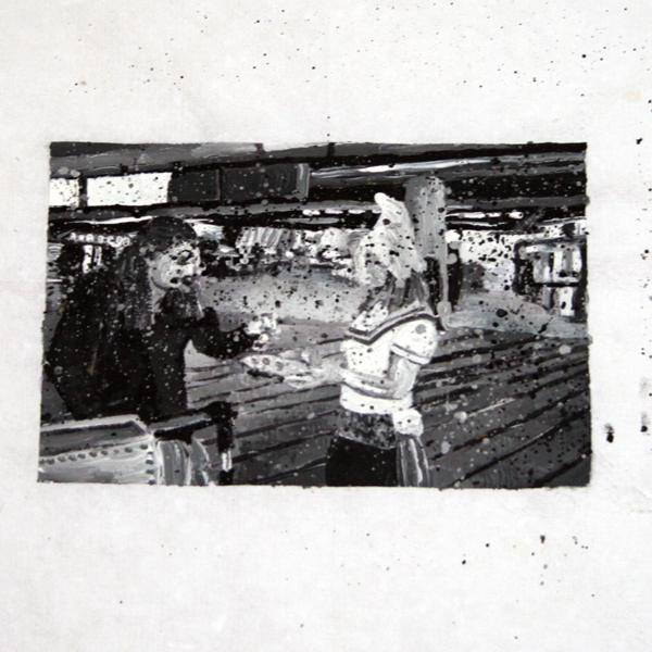 Tjebbe Beekman - On Identity - 30xA4 Acrylverf op papier