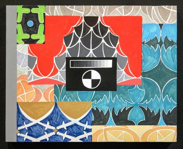 Navine G Khan-Dossos - Cascades IV - 40x50cm, Gouache op paneel