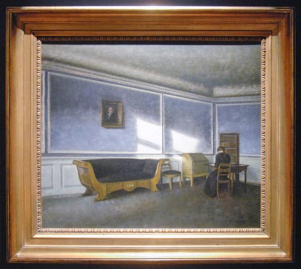 Amells Kunsthandel - Vilhelm Hammershoi