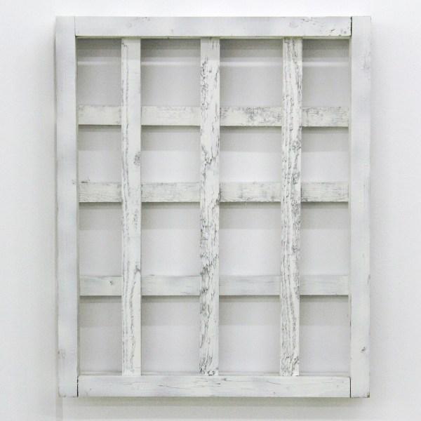 Jan van den Dobbelsteen - Teachings - 56x46x6cm, Lak op hout, 1997