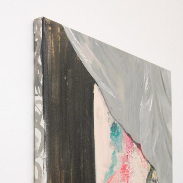 Pere Llobera - Language Fight - 75x100cm Olieverf op canvas (detail)