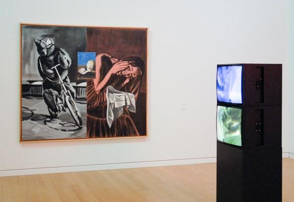 David Salle - 1997 (Stedelijk) & Bruce Nauman - 1996 (Stedelijk)