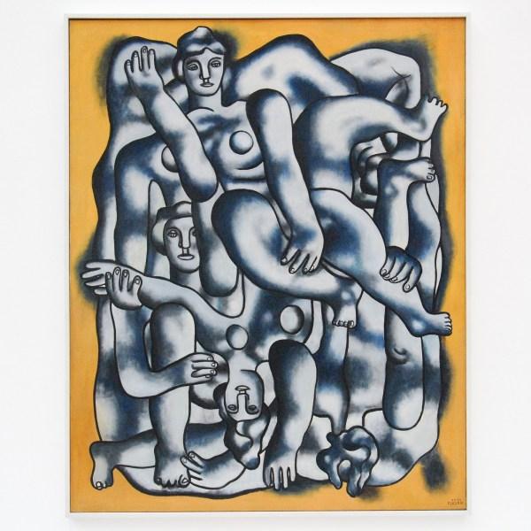 Fernand Leger - Acrobats in Gray - Olieverf op canvas, 1942-1944