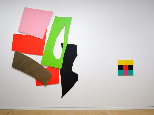 Imi Knoebel - 1975 (Van Abbe & Richard Paul Lohse - 1956 (Stedelijk)