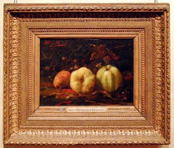 Sientje Mesdag-van Houten - Appels - Olieverf op canvas, 1882