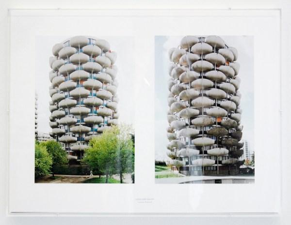Aglaia Konrad - Undecided Frames (Creteil 1999) - Digitale print gemonteerd op archiefkarton, stempel en plexidoos. 2013