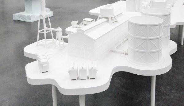 Atelier van Lieshout - Powerplant - Glasvezel (detail)