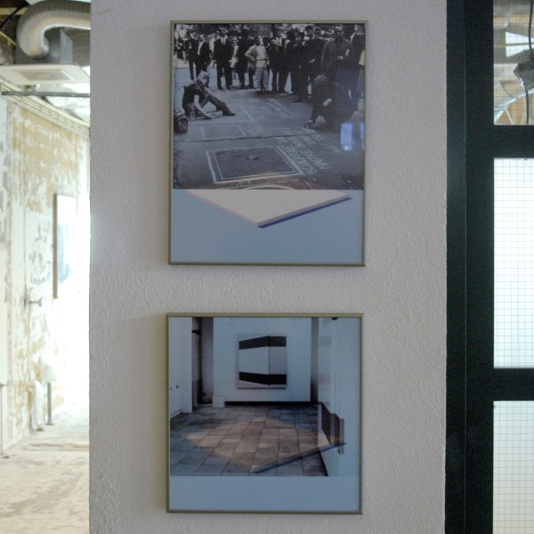 Daan van Golden - White Painting, Daan in Paris & White Painting, Two Paintings - Glicee prints