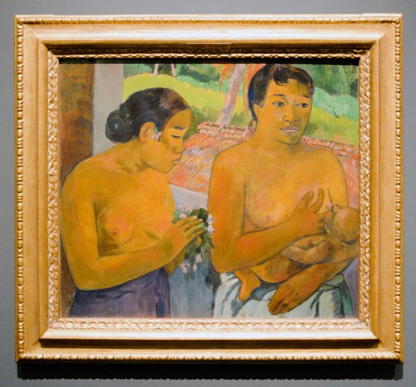 Paul Gauguin - The Offering - 69x79cm Olieverf op linnen, 1902