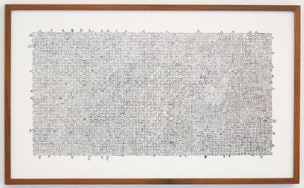 Anita Groener - Matrix - 39x57cm Gouache