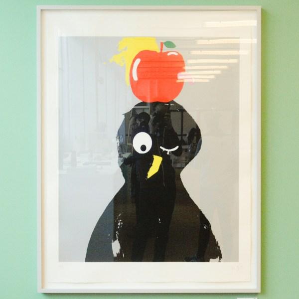Morgan Betz - Untitled - 115x90cm Zeefdruk op papier, oplage 8, 2015, €1300,-
