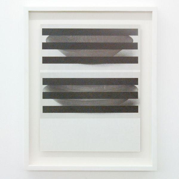 Louis Reith - Untitled (Lood) VI - 21x27cm Collage van gevonden boekpagina's