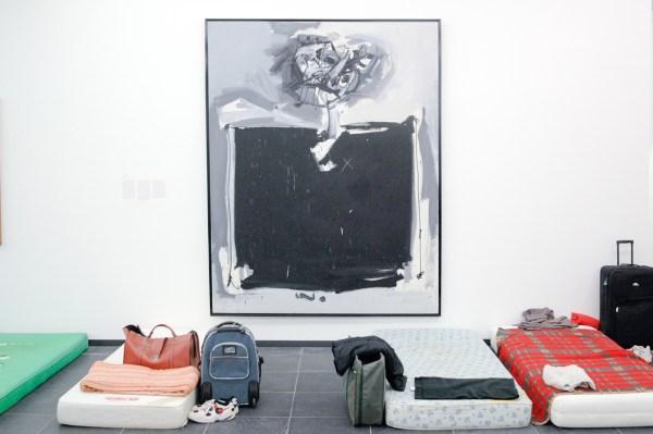Antonio Saura - Le Grand Cure - Olieverf op canvas, 1959-1960