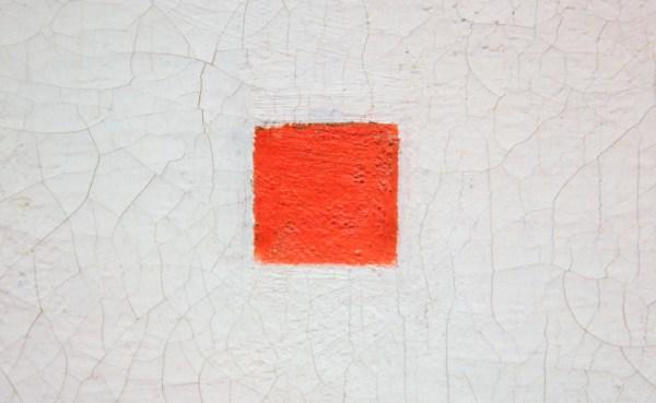 Bart van der Leck - Compositie - 51x62cm Olieverf op doek, 1918 (detail)
