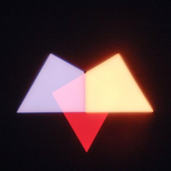 Olafur Eliasson - Ephermeral Afterimage Star - Lichtinstallatie, 2008