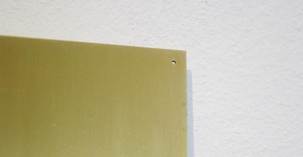 Willy de Sauter - Zonder Titel - 44x40cm Lakverf op messing (detail)