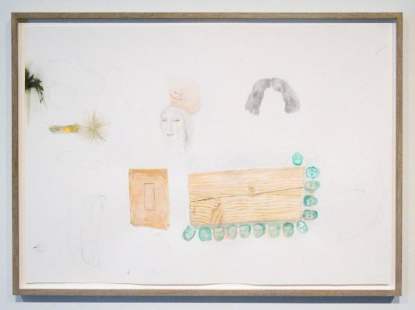 Femmy Otten - One Year in Ten - Potlood, olieverf en aquarel op papier
