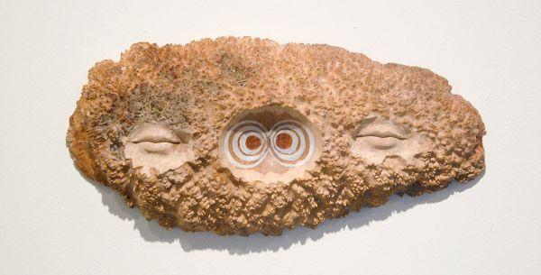 Femmy Otten - Untitled - Burlshout, acrylverf en epoxy