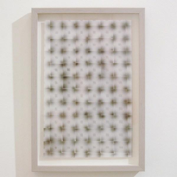 Marielle Buitendijk - Zonder Titel - 40x31cm OostIndische inkt en gesneden papier, ingelijst