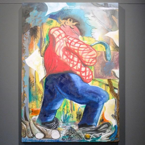 Kim David Bots - Zonder Titel - 122x175cm, Olieverf op doek