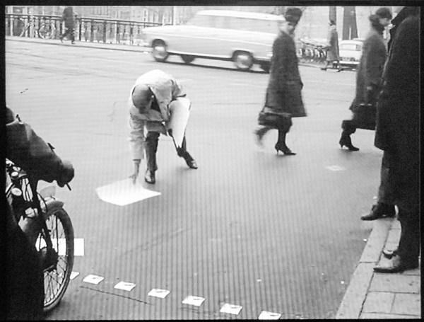 Willem de Ridder, Wim T Schippers - Televisieprogramma met stanley brouwn, 1963