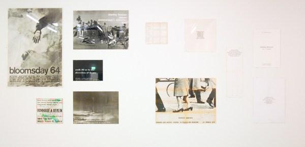 documentatie stanley brouwn - posters