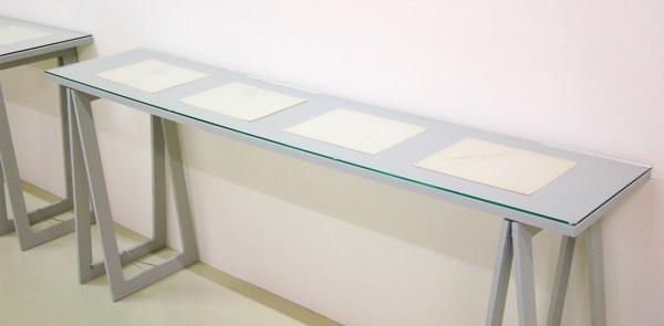 stanley brouwn - steps - Sporen op papier, 1963