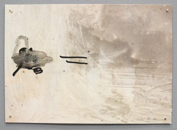Andrew Crane - Motif - 21x30cm Konijnenlijm gemengd met acryl op papier