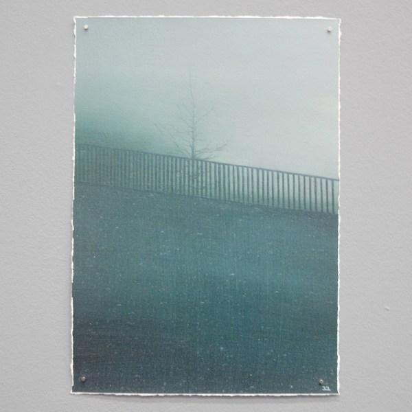 Bart Slangen - Stillness - 30x21cm Olieverf op papier