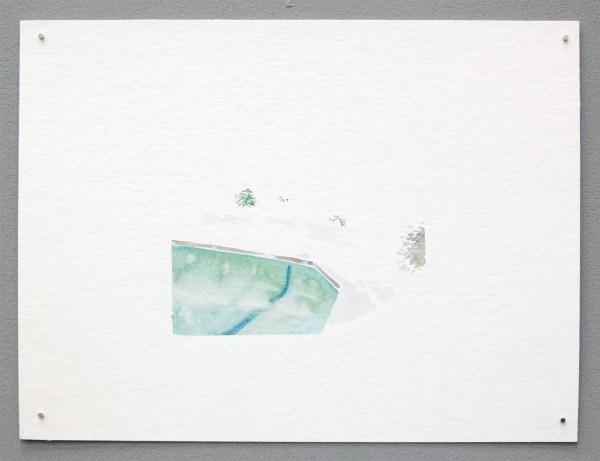 Bram Kinsbergen - No Title - 24x32cm Waterverf op papier