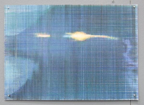 Lesley Hicks - Kambasridur, vestur - 21x30cm Kleurpotlood op papier