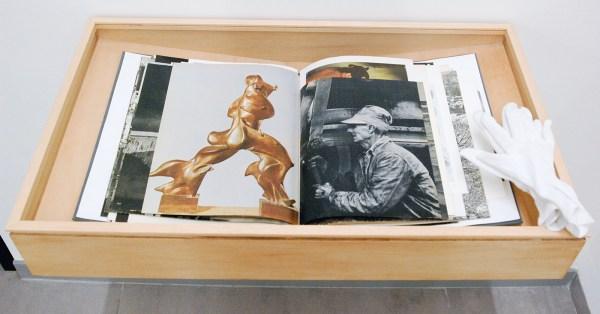 Lucian Wester - Imago Libri - 36x31x4cm, Boek samengesteld uit verscheidene boeken