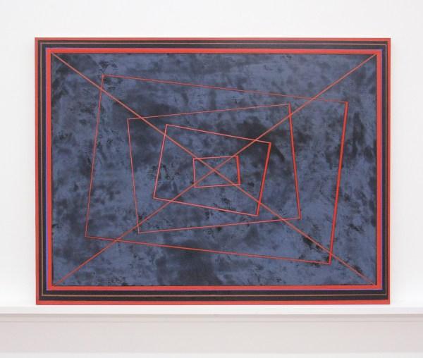 Matts Leiderstam - Panel no 3 - 49x65cm, Olieverf en acrylverf op populieren paneel