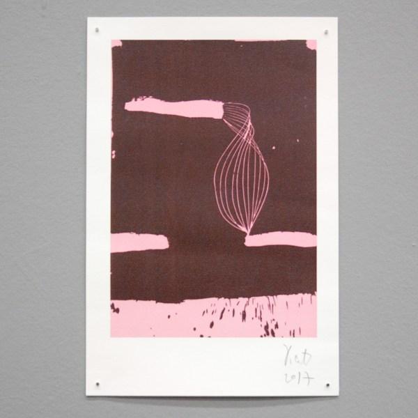 Yifat Gat - 33x22cm Duotone print op papier