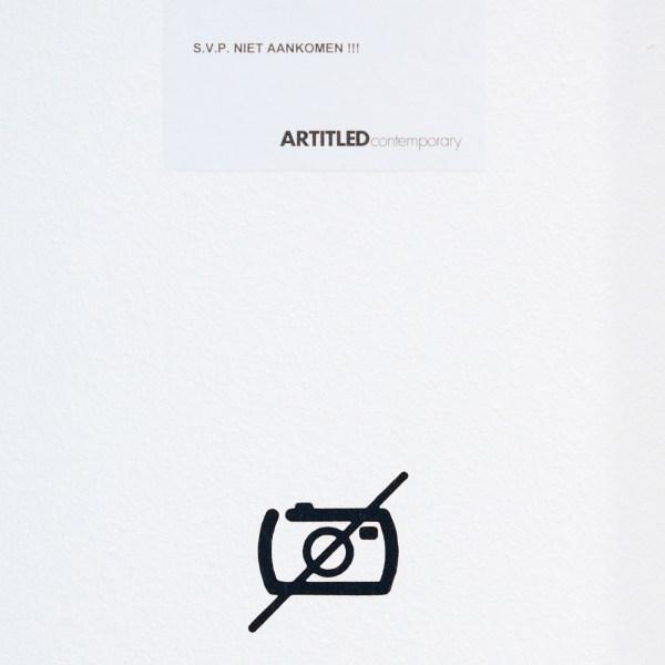Artitled - Deze galerie weet nog niet dat het 2018 is