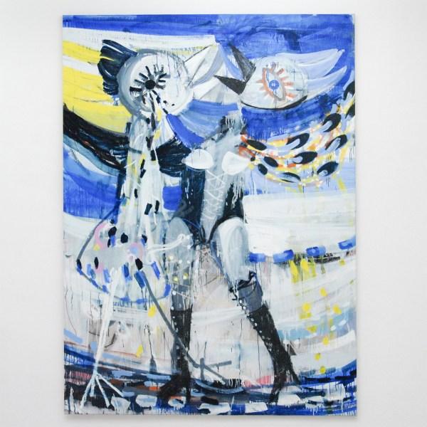 Gerben Mulder - Love Birds - 233x170cm Olieverf op canvas