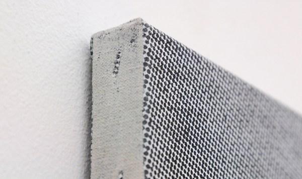 Joan van Barneveld - Blue Jay Way - 84x70cm Acrylverf op canvas, zeefdruk (detail)