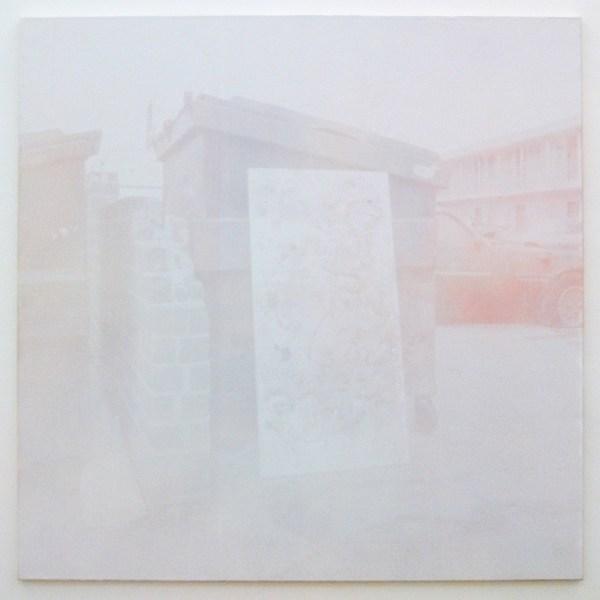 Joan van Barneveld - Painting - 140x140cm Acrylverf op canvas, zeefdruk