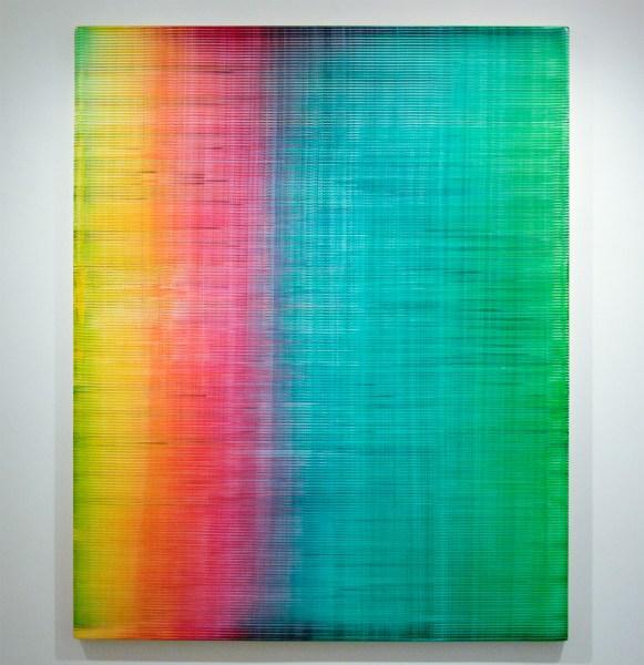 Rob Bouwman - Untitled (p0242017) - 180x145cm Olieverf en alkydverf op paneel