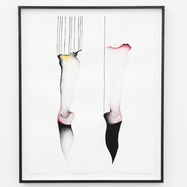 Grace Schwindt - Silent Dance - 50x40cm Aquarel en oost-indische inkt op papier