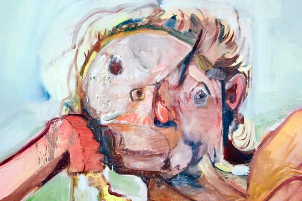 Tatjana Gerhard - 170x200cm Olieverf op canvas (detail)