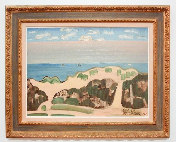 Jean Brusselmans - Duinlandschap - Olieverf op doek, 1938