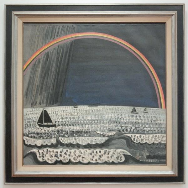 Jean Brusselmans - L'Arc-en-Ciel (De Regenboog) - Olieverf op doek, 1932