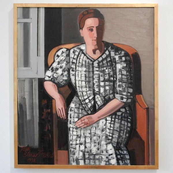 Jean Brusselmans - Madame Brusselmans - Olieverf op doek, 1938