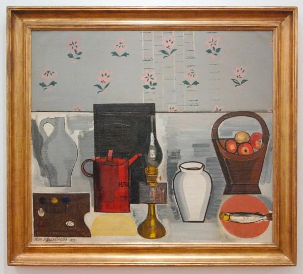 Jean Brusselmans - Nature Morte Au Cruchon Rouge (Stilleven met Rode Kruik) - Olieverf op doek, 1933