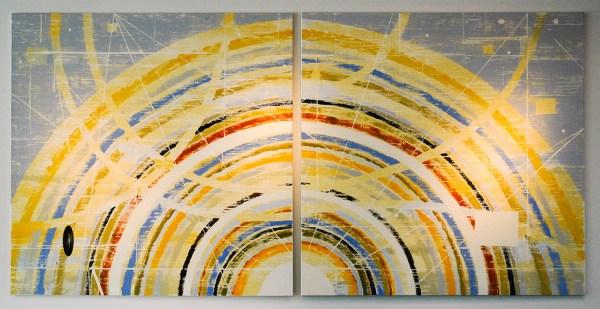 Joris Geurts - Untitled & Untitled - 200x200cm Olieverf op doek