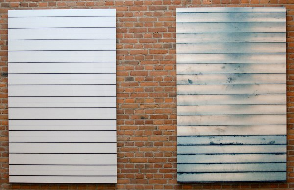 Sean Scully - Manhattan Shut - C-print, 2014
