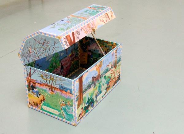 Arjan Hijbeek - Kist met vierjaargetijden