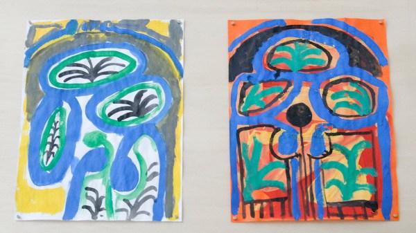 Marijn van Kreij - Untitled (Picasso, Miscellaneous Studies) - 11 tekeningen, 30x21cm Gouache en potlood op papier